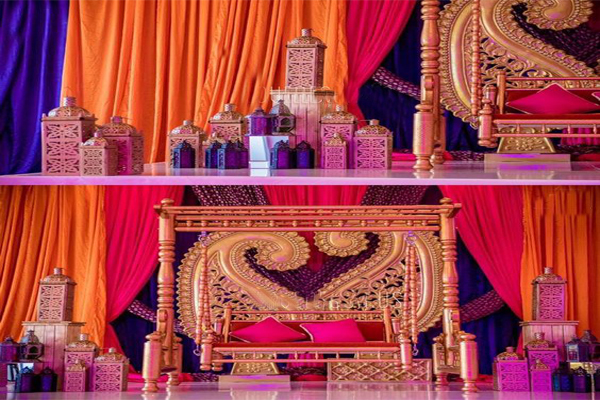 Rajasthani Theme Decoration - Rachnoutsav Weddings